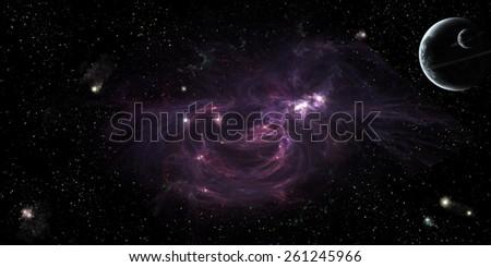 deep space stars planets satellite galaxies nebulae supernovas