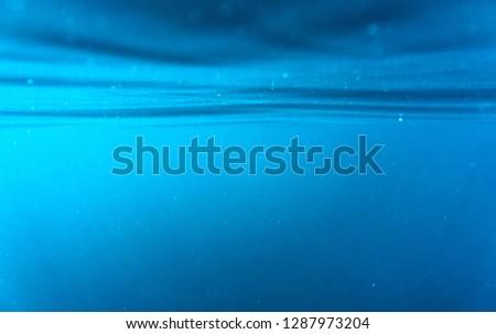Deep water, deep blue #1287973204