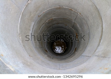 deep well, Dig a well for water, Deep water well, Inside The Well