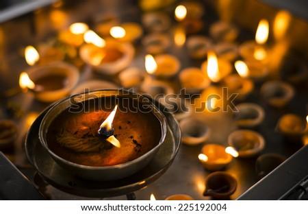 Deepavali, festival of lights at Sri Srinivasa Perumal Temple, Singapore