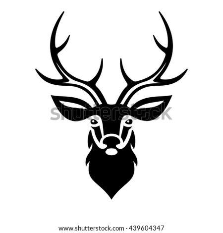 Royalty Free Deer Head Logo Symbol Icon Graphic 378522007
