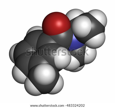 preparation of n n diethyl m toluamide deet and B preparation of n,n-diethyl-m-toluamide diethylamine hydrochloride irritates the skin, eyes, and respiratory tract avoid contact and inhalation in the reaction mixture, it forms diethylamine, which is corrosive and has toxic vapors diethyl ether is extremely flammable and may be harmful if inhaled.