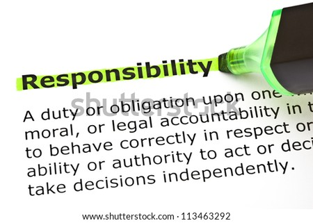 the responsibility project website