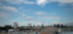 Defocused absrtact background of South Jakarta City