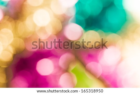 Defocused abstract bokeh  for use at graphic design #165318950