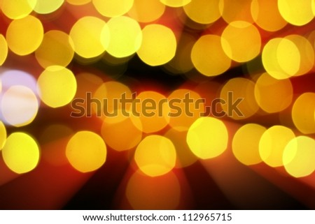 Defocused abstract red and yellow background