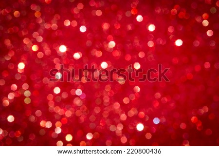 defocused abstract red...