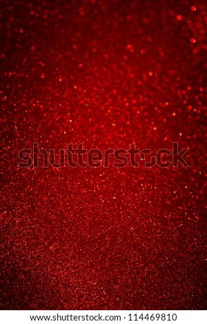 Defocused abstract red lights background - stock photo