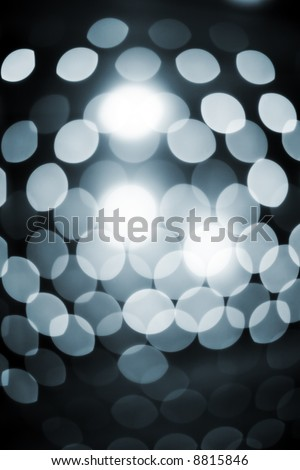 Defocused abstract sparkling lights background