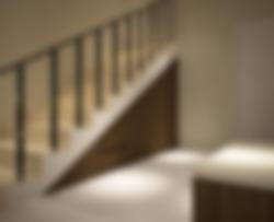 Defocused and Blur Photo of Simple and Cozy Stair Interior Design