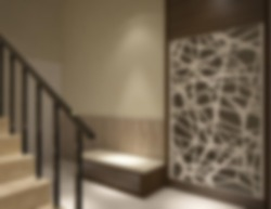 Defocused and Blur Photo of Unique and Simple Stair Interior Design