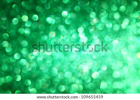 defocused green lights background photo