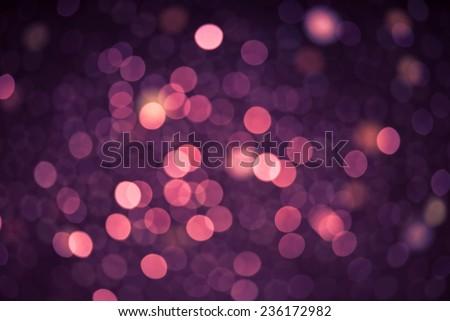 Defocused lights background purple color