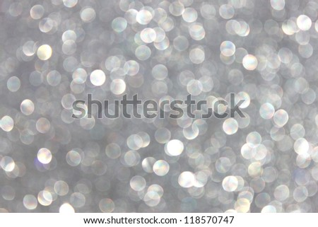 defocused Lights on grey background