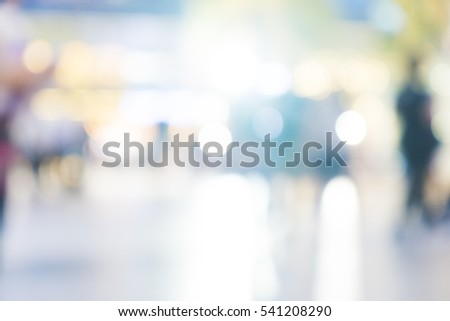 defocused lights with white...
