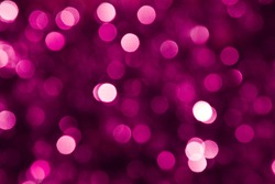 Defocused pink abstract christmas background