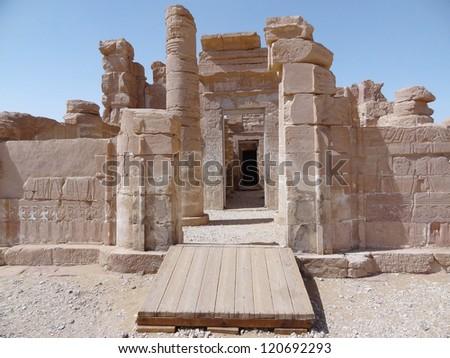 Deir el-Hagar Temple in Egypt