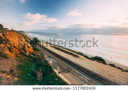 Del Mar San Diego Railroad and Ocean