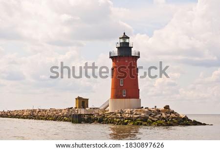 Delaware Breakwater Lighthouse - Lewes, DE Zdjęcia stock ©