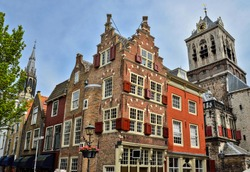 Delft, Holland. Typical architecture.