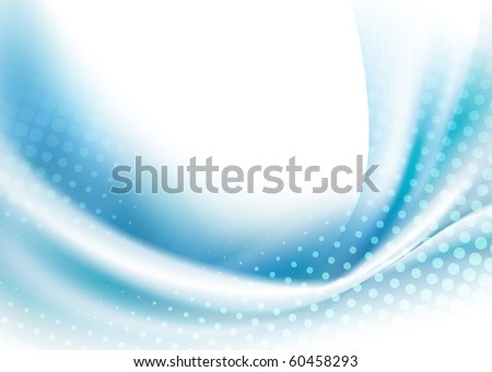 delicate modern blue background