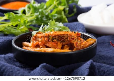 Delicious and delicious radish