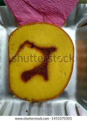 delicious and delicious sponge bread
