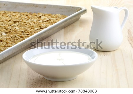delicious and healthy granola, with lots of dry fruits, nuts and grains