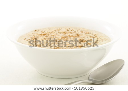 delicious and nutritious bowl of oatmeal, the perfect healthy way to start your day.