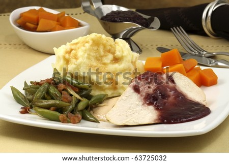 delicious and very healthy turkey breast diner, great and easy way to make a healthy thanksgiving diner ,christmas day or new years eve diner