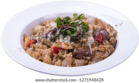 delicious beef pilaf