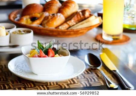 10.  Fatmagül'un sucu ne ? ~ General Discussions - Comentarii - Pagina 3 Stock-photo-delicious-breakfast-with-fresh-fruits-fresh-bread-selection-and-juice-56929852