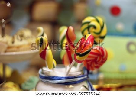 Delicious candy Stockfoto ©