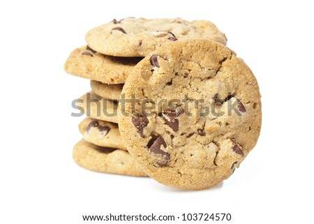 Delicious Fresh Chocolate Chip Cookies
