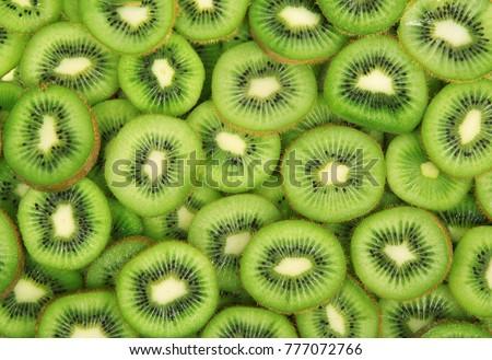 delicious fresh kiwi total background #777072766