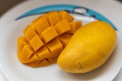 Delicious fruit yellow mango, Philippines