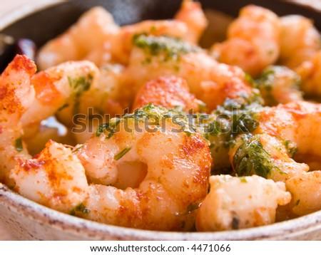 Delicious Garlic Prawns