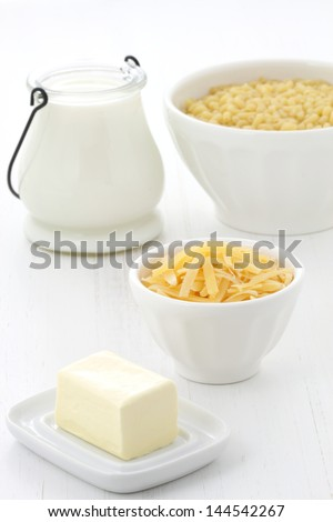 Delicious macaroni and cheese ingredients with a smooth milk cream, fine bread crumbs and aged cheddar cheese. Almost every kid and adult will love it at once.