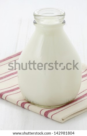 Delicious, nutritious and fresh milk pint.