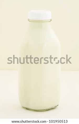 Delicious, nutritious and fresh Quart Milk Bottle.