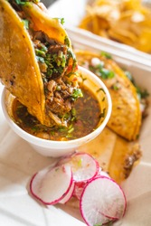 Delicious popular birria tacos in the San Francisco Bay Area to support small Mexican businesses