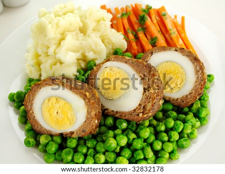 Mashed Potatoes With Peas And Carrots Carrots And Mashed Potato