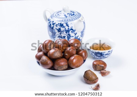 Delicious sweet oil chestnut