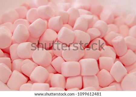 Delicious texture of Pinky bonbon smashers. - Shutterstock ID 1099612481