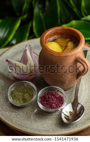 Delicious traditional Azerbaijani soup Piti  Сток-фото ©