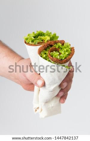 delicious turkish cig kofte, lettuce