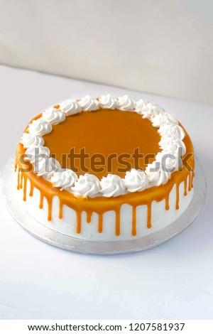 Delicious Ultimate Butterscotch Cake #1207581937