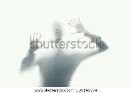 delirious psychopath mental care Stock photo ©