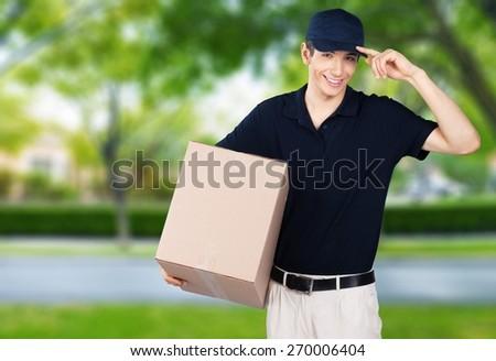 Delivering, Men, Messenger.