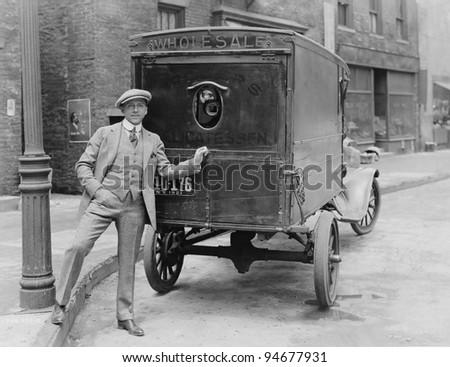 delivering merchandise